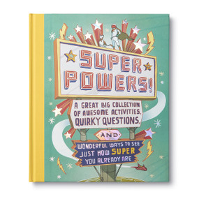 superpowers!, front cover