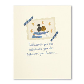 wherever you are friendship card