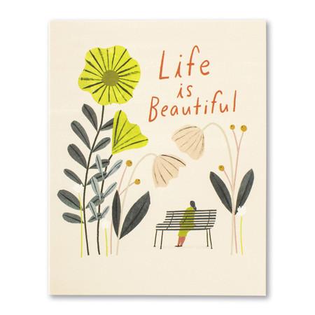 life is beautiful birthday card