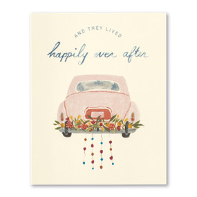 and they lived happily ever after | wedding