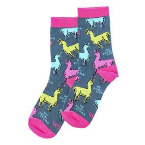 llama socks womens