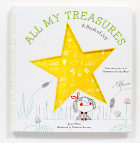 all my treasures - a book of joy, front cover