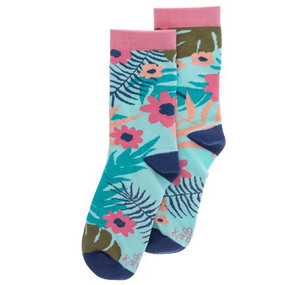 tropical womens socks