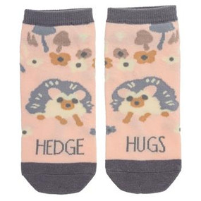 hedgehog womens ankle socks