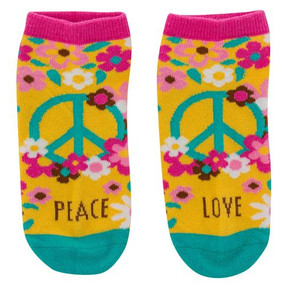 hippie womens ankle socks