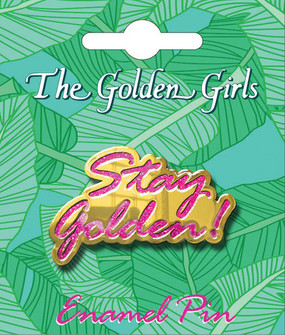 the golden girls enamel pin