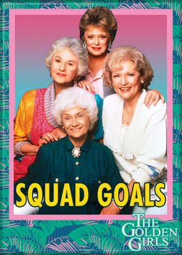 the golden girls squad goals photo magnet