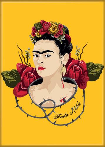 frida kahlo with thorns photo magnet