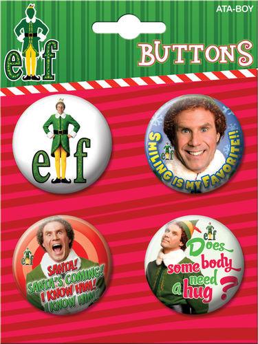 elf button set