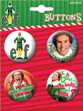 elf button set