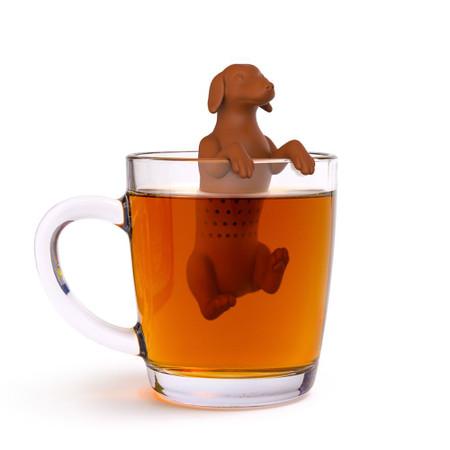hot dog tea infuser