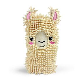 llama spit shine dusting mitt
