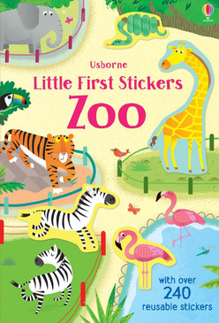 little first stickers zoo, front