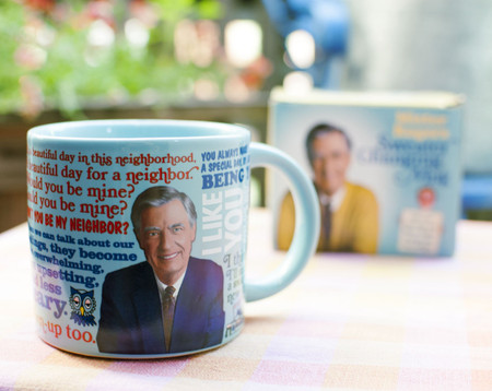mr. rogers color changing mug