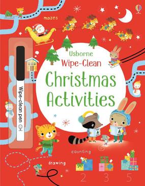 wipe clean christmas activities book