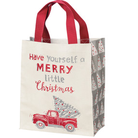 have yourself a merry little christmas daily tote