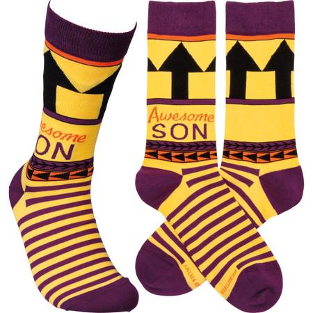 awesome son mens socks