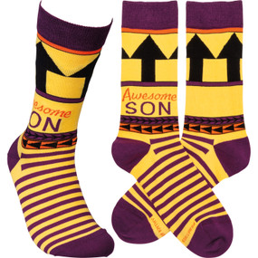 awesome son mens socks