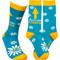 awesome grandma womens socks