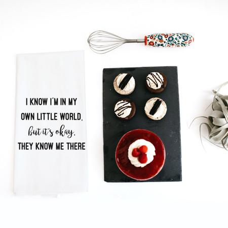 own little world towel