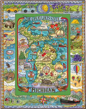 michigan memories puzzle