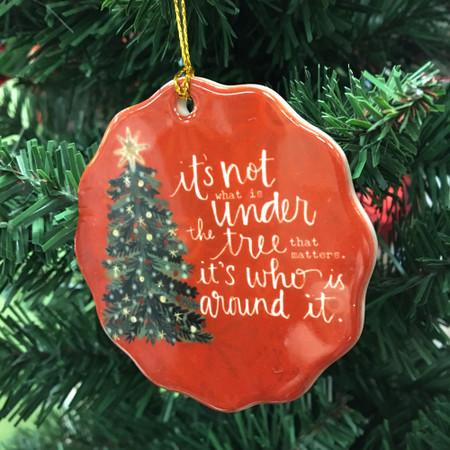 around the tree ornament