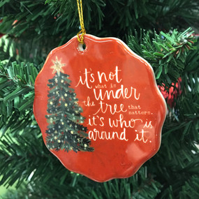 around the tree ornament