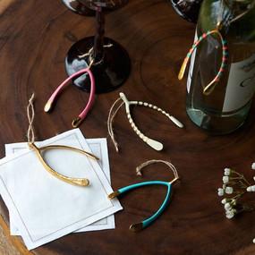 wishbone ornament  (assorted)
