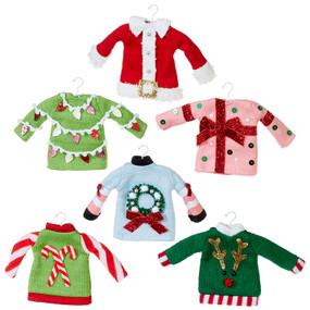 sweater ornament (assorted)
