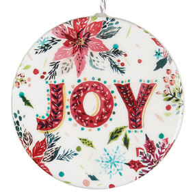 joy styrofoam ornament