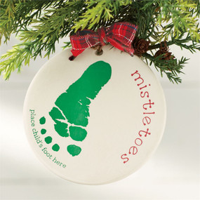 mistletoes ornament personalize