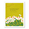 greeting card, kind words, friendship, FSC®-certified, 100% post-consumer recycled paper    SIZE: 4.25″W x 5.38″H