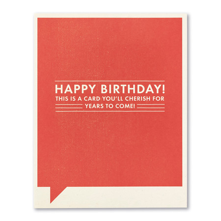 Birthday card, hot flashes, menopause, fan, funny, FSC®-certified, 100% post-consumer recycled paper, SIZE: 4.25″W x 5.38″H, front