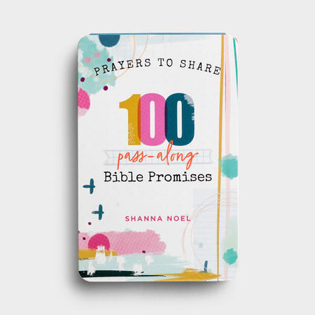 Prayers to Share, 100 Pass-Along Bible Promises, encouraging, devotional, inspiring, front cover