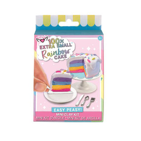 rainbow cake mini clay kit