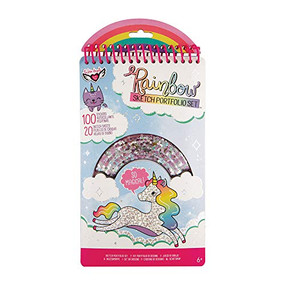 rainbow sketch pad fashion angels