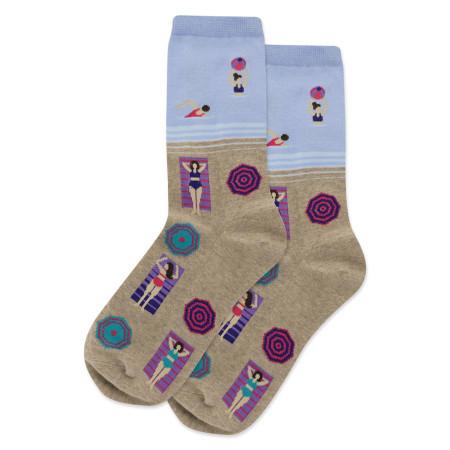 Socks, women's, beach, sunbathing, Women's Shoe Size 4 - 10 1/2