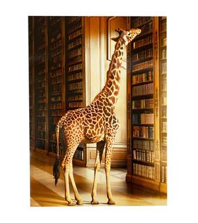 greeting card, graduation, congratulations, giraffe, beyond your reach