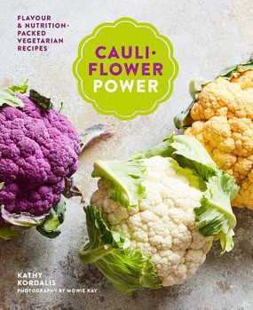 Cauliflower recipes, cook book, 60 recipes,  fibre, omega-3s, B vitamins, and minerals, Crispy Cauliflower Katsu Curry, Whole Roasted Lemon and Oregano Cauli with Pitas and Yogurt Dressing, Umami Cauli Steaks, Quick Cauli Saffron Pilaf, Freeform Cauliflower Tart, Smokey Cauli Arancini, or even Deepest Darkest Caramel Brownies, hardcover, Page Count: 144 Dimensions: 8.4 x 6.6 x 0.8 inches