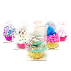 mini cupcake bath fizzy (assorted)