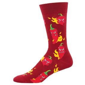 hot stuff mens crew socks