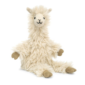 bon bon, llama, stuffed animal, soft, fluffy, ages 12+ months 10""