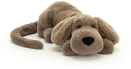 "henry, hound, stuffed animal, soft, floppy, 12"" long"