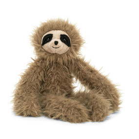 "Bonbon Sloth, stuffed animal, soft, fluffy, flopsy,  10"" tall"