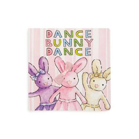 Dance Bunny Dance, book, little rabbit, ballerina, 6 x 6, front cover
