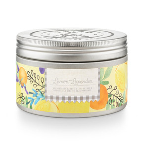 lemon lavender, soy candle, 14 oz, fresh scent