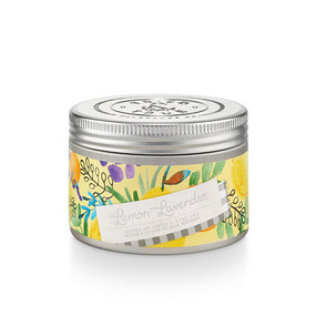 Lemon Lavender, fresh scent, soy candle, 4 oz.