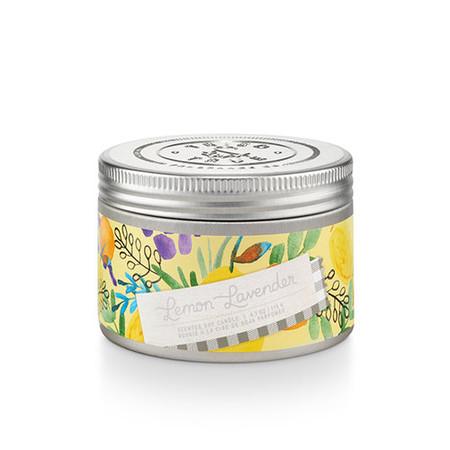 Lemon Lavender, fresh scent, soy candle, 4 oz.