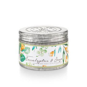 Eucalyptus & Sage, fresh scent, soy candle, 4 oz.