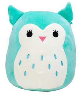 Winston Owl, Squishmallow, plush toys, comfort, support,  couch companions, pillow pals, bedtime buddies, travel teammates buddy, children, Easter, 12""